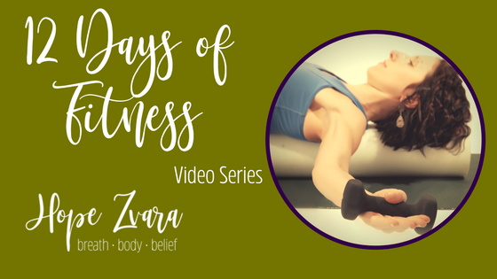 12 Days of Fitness: Online Yoga Video Series