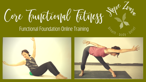 Core Functional Fitness: core stability, mobility, and functionality fitness training online