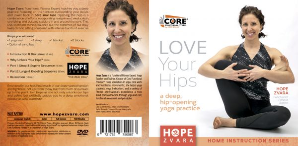Love Your Hips- A Deep Hip-Opening DVD