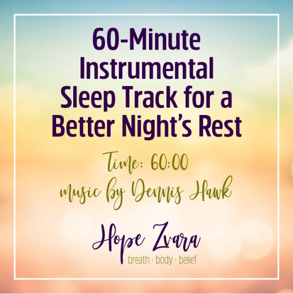 60-Minute Instrumental Sleep Track for a Better Night's Rest Time 60:00