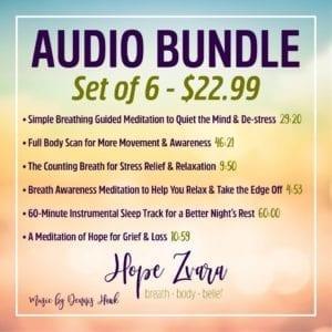 Audio Bundle Hope Zvara