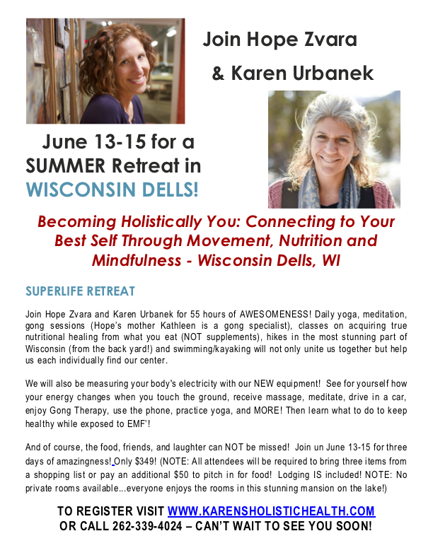 Wisconsin Dells Yoga Retreat