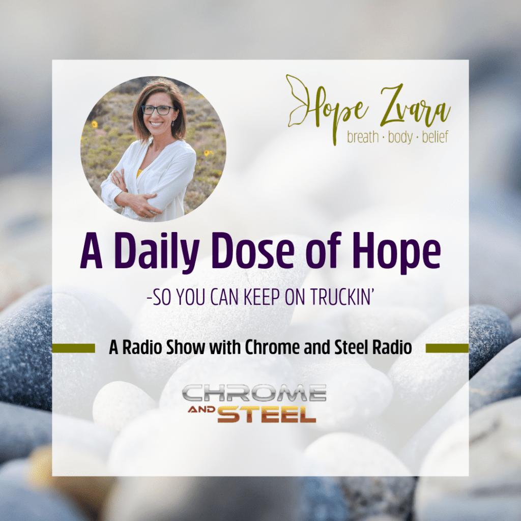 Hope Zvara Daily Dose of Hope Radio Show