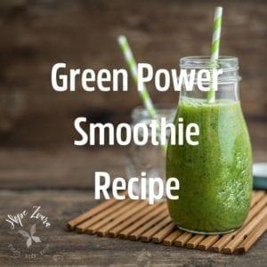 Best green power smoothie recipe