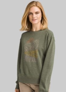 Outdoor wear Prana Graphic Crew