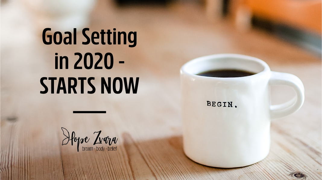 Goal Setting in 2020 – Starts Now