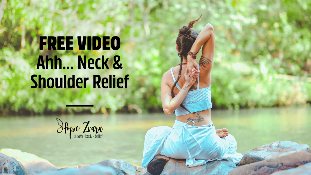 [FREE VIDEO] AHH… Neck & Shoulder Relief
