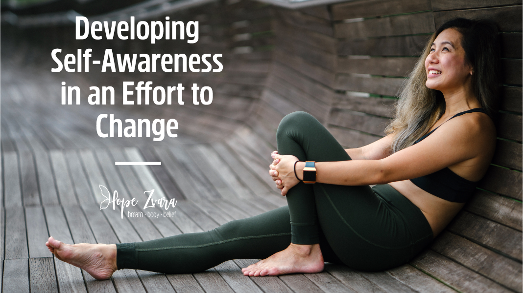 Developing Self-Awareness Change