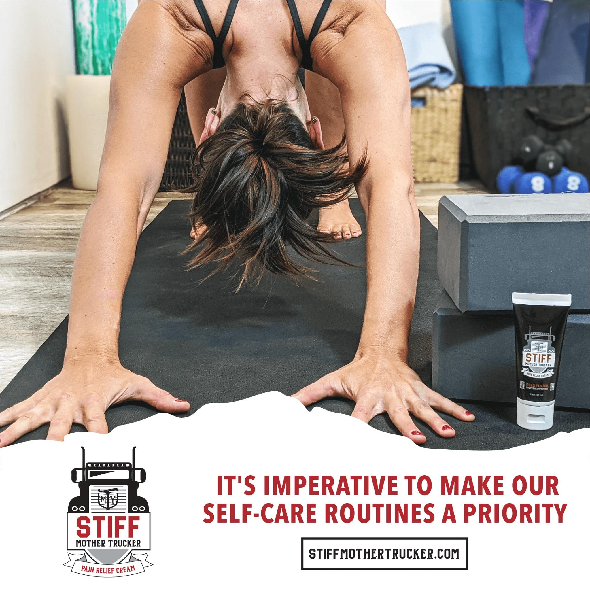 STIFF Mother Trucker for Yoga